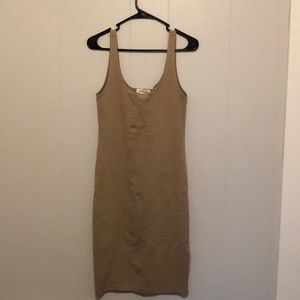 Simple Beige Dress